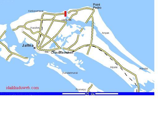Jaffna Map